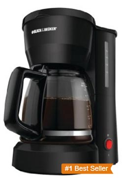 Black & Decker DCM600b 5-cup Coffeemaker