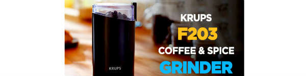 Krups F203 Electric Coffee Grinder Review