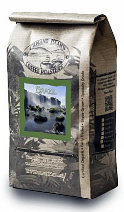 Camano Island Coffee Roasters, Organic Brazil Medium Roast, Whole Bean, 1 Lb Book Cover