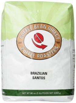 Coffee Bean Direct Santos review
