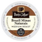 Peet's Coffee Brazil Minas Naturals K-Cups