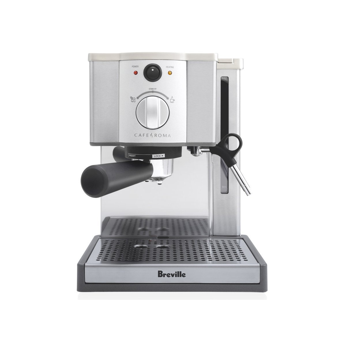 Breville ESP8XL Cafe Roma Stainless Espresso Maker Book Cover