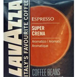Lavazza Super Crema Espresso Whole Bean Coffee