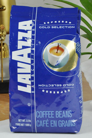 Lavazza Whole Bean Coffee Gold Selection