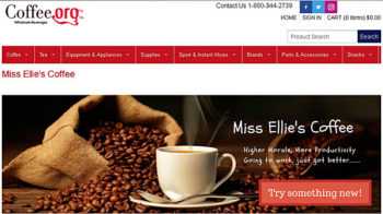 Online Wholesale Beverages, Coffee.Org