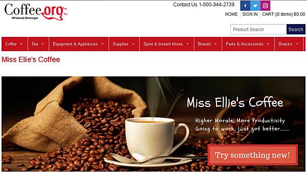 Online Wholesale Beverages - Coffee.Org