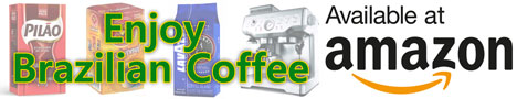 Enjoy Brazilian Coffee Available at Amazon