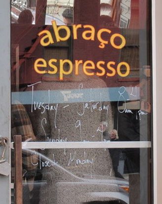 Abraco Coffee Shop NYC