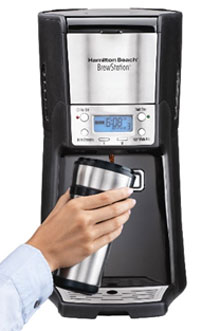 Hamilton Beach 12-Cup Coffee Maker, Programmable Brewstation Summit Dispensing Coffee Machine (48464) Book Cover