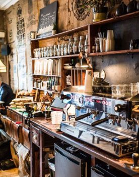 Artisan Roasted Coffee, Edinburgh