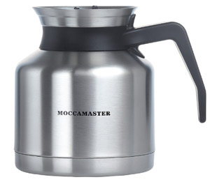 Moccamaster 79212 KBTS 8-Cup Coffee Brewer with Thermal Carafe Book Cover