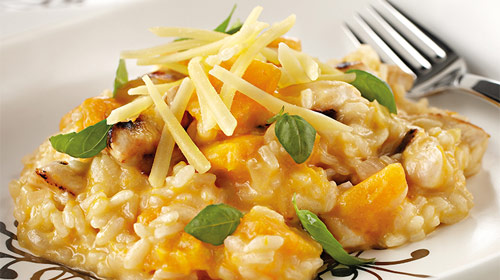 Brazilian Coffee Creamy Chicken Risotto Recipe