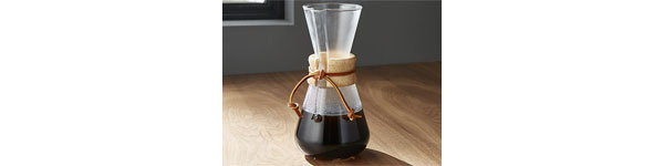 chemex pour over brewer